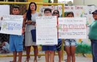 """Sufren calor en la escuela """"Miguel Hidalgo"""", de Dzilam: La SEGEY no los apoya, denuncian"""