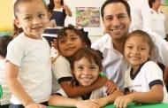Mauricio Vila inauguró un nuevo jardín de niños, en Progreso