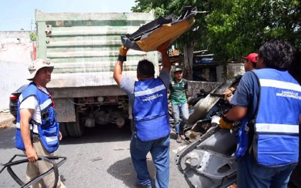 Recolectan más de 800 toneladas de cacharros
