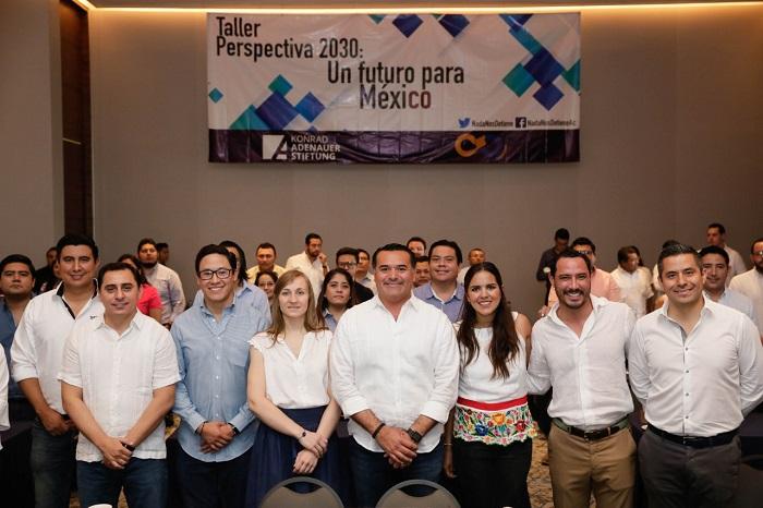"""Mérida es sede del III taller Perspectiva 2030: """"Un futuro para México"""""""
