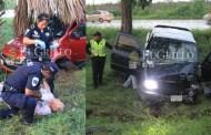 Dos camionetas se salen del Periférico de Mérida: Un lesionado