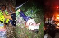 Choque de motos deja un muerto y un quemado, en la ví Dzilam González-Dzilam de Bravo