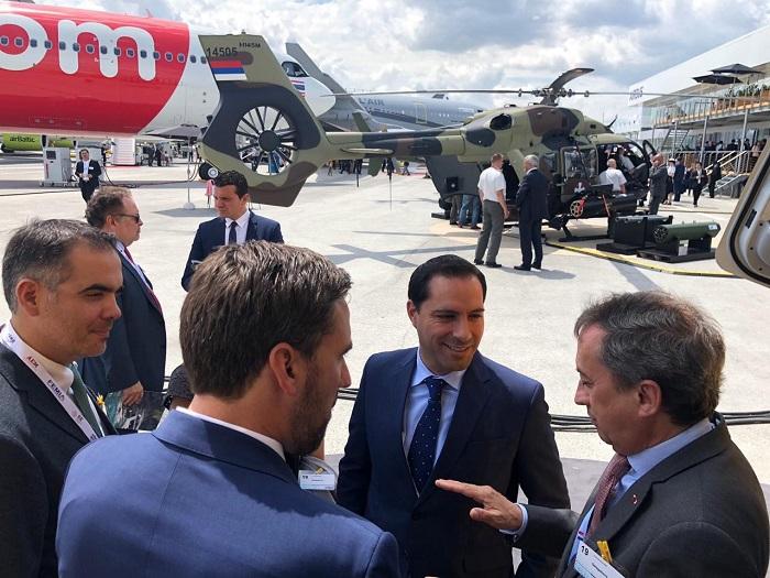 Aumenta la inversión extranjera de Yucatán durante el primer semestre de 2019, afirma Mauricio Vila