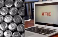 Paga tu cuenta de Netflix  a cambio de latas