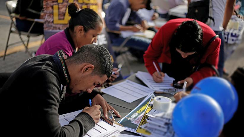Baja un 69% la generación de empleos en el país