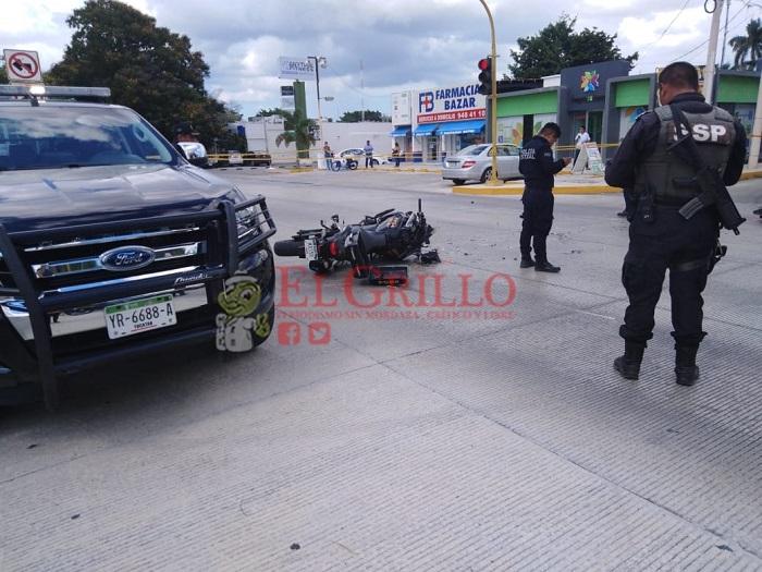 Muere el policía que fue atropellado por un automovilista, en Paseo de Montejo