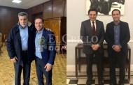 Vila y el director nacional del IMSS trabajarán para mejorar los servicios de salud de los yucatecos