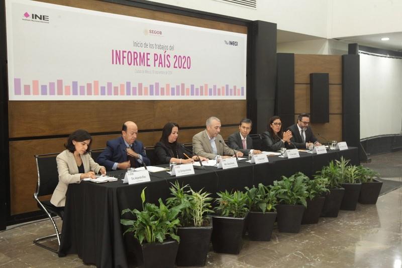 Inician los trabajos del 'Informe País 2020'