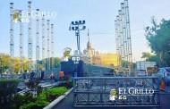Instalan el escenario para Ricky Martín y trastornan la vialidad en el Paseo de Montejo