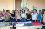 Decenas de motuleñas son beneficiadas con los cursos y talleres de costura, afirma Kelly Sosa