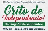 Con eventos culturales, Progreso celebrará el Grito de Independencia