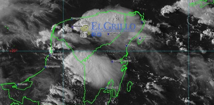 Se esperan lluvias fuertes en Yucatán, este martes en la tarde