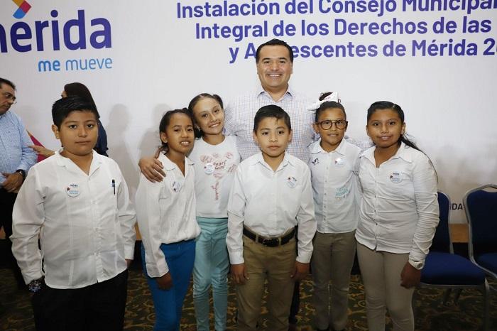 Renán Barrera instaló el Consejo de Protección Integral de los Derechos de los Niños y Adolescentes