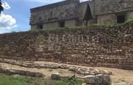 El arqueólogo José Huchim le devuelve el esplendor al Palacio de Ah Uitzil Chaac