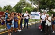 Inauguran la repavimentación de la avenida Mérida 2000