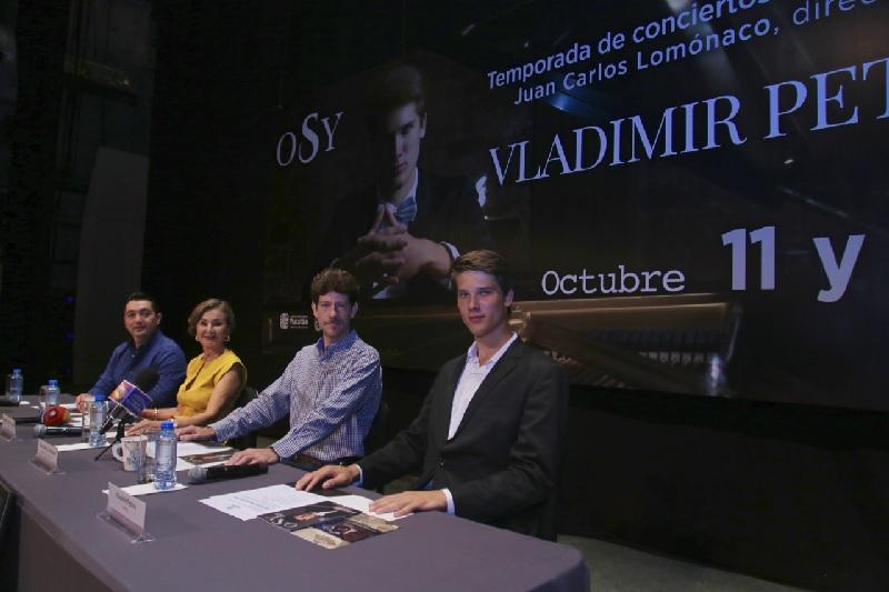 Vladimir Petrov tocará en Mérida la obra cumbre de Rachmaninov