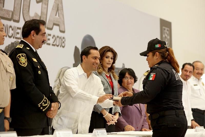 Policías de la SSP, mejor capacitados y menos corruptos