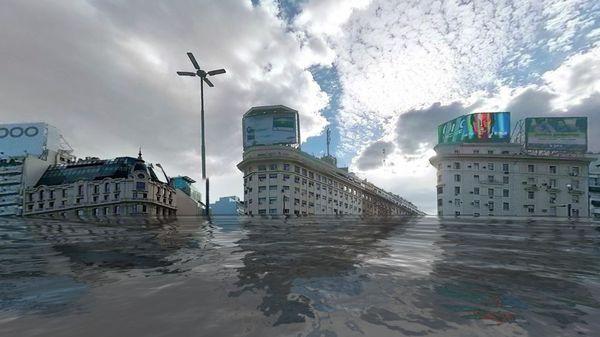 Nueve países quedarán bajo el agua dentro de 30 años