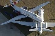 Chocan dos aviones en el aeropuerto de San Antonio, en EE.UU: no hubo heridos