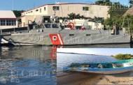 Los pescadores chocaron contra la Interceptora y dos murieron, dice la Marina