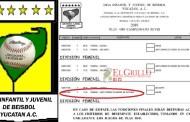 Frustran un abuso más del equipo de las hijas de Morejón, en la Liga Yucatán