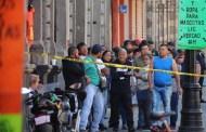 Ebrio, un exmilitar mató a balazos a cinco personas, en el centro de la Ciudad de México