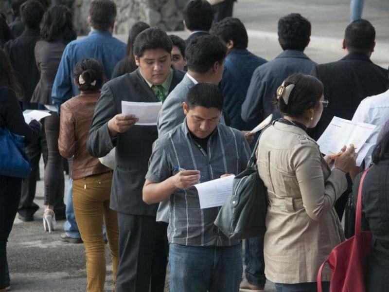 Tasa de desempleo sube un 3.6%