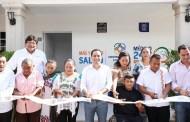 Muricio Vila inauguró tres módulos del programa