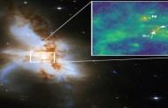 Por primera vez en la historia, encuentran tres agujeros negros en una misma galaxia