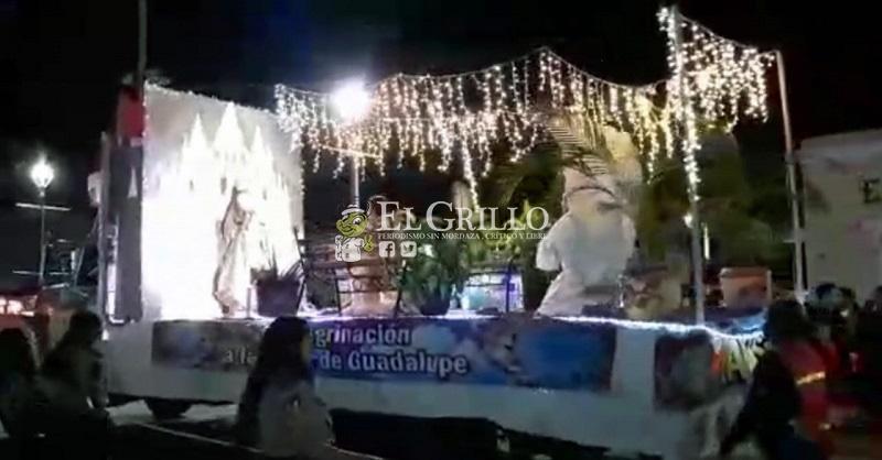 Taxistas de Progreso realizan su peregrinación guadalupana