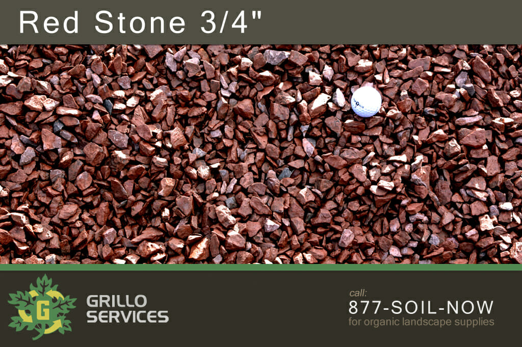 """Red Stone 3/4"""""""