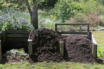 Compost Forming For Use In The Garden