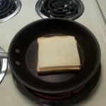 Add a slice of mozzarella