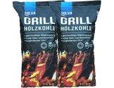20 kg (2x10kg)Grillholzkohle Holzkohle (Buche) Premium -