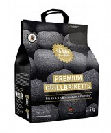 Die Kohle Manufaktur Premium Grillbriketts 1 x 5 kg long tasting -