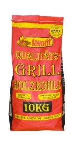 Favorit 1000 Grill-Holzkohle 10 kg -