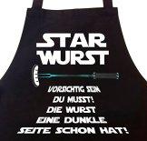 Grillschürze Kochschürze STAR WURST -