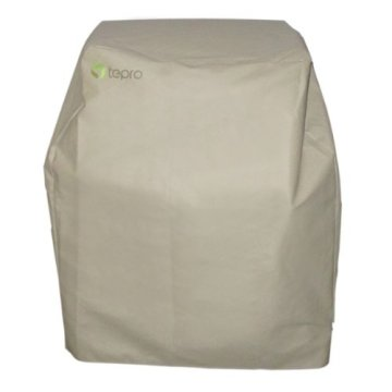 Tepro Abdeckhaube passend für Tepro Toronto (NICHT für XXL) Holzkohlengrill, Beige -