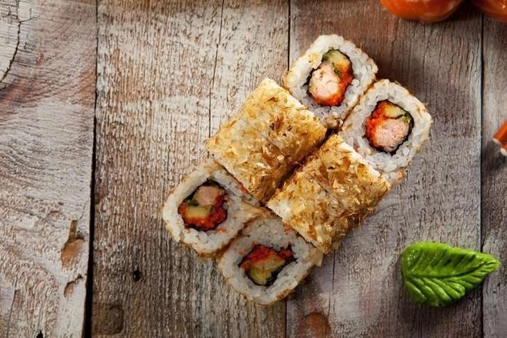 salmon skin roll recipe