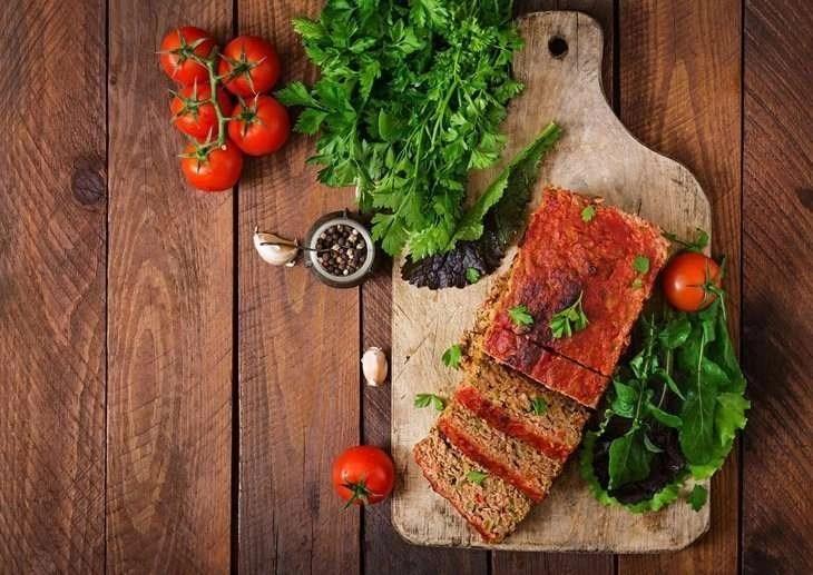 Meatloaf with Vegetables