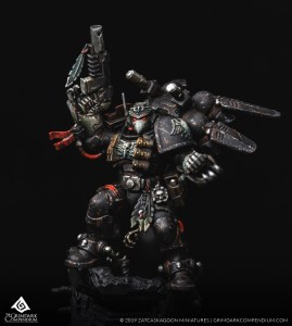 How to Paint: Raven Guard - Kayvaan Shrike