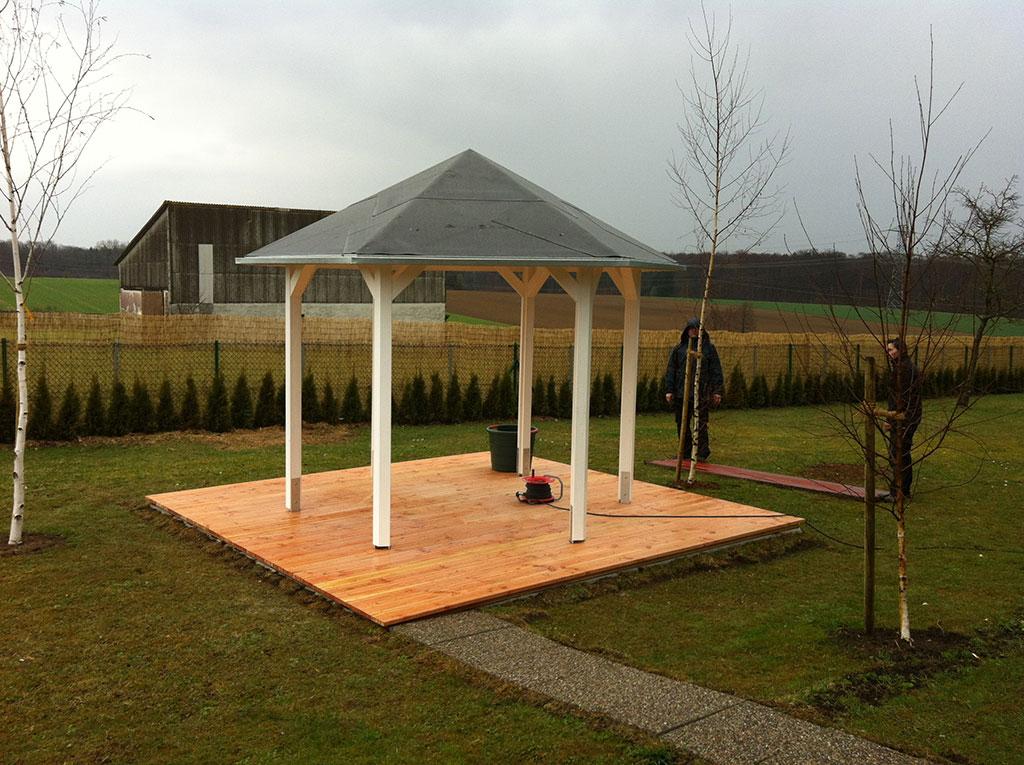 Terrasse Pavillon Holz