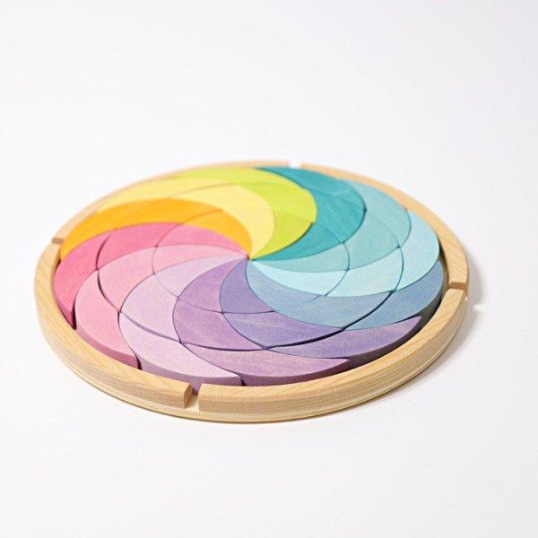 Pastelowa Spirala