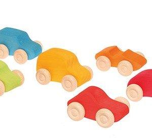 Drewniane Samochodziki