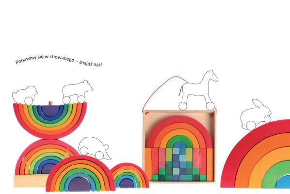 kolorowanki dla dzieci, kolotowanka tęcza