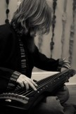BC on guqin 古琴 for Redolent Spires promo shoot   (c) Diwas Photography