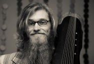 """Brian with """"Phoenix Tongue"""" of his guqin   (c) Diwas Photography"""