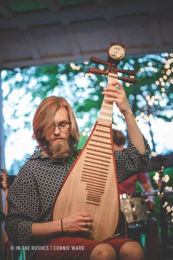 BCG on pipa w/ Lovely Socialite @ The Sh*tty Barn| Photo by Connie Ward (c) In The Rushes