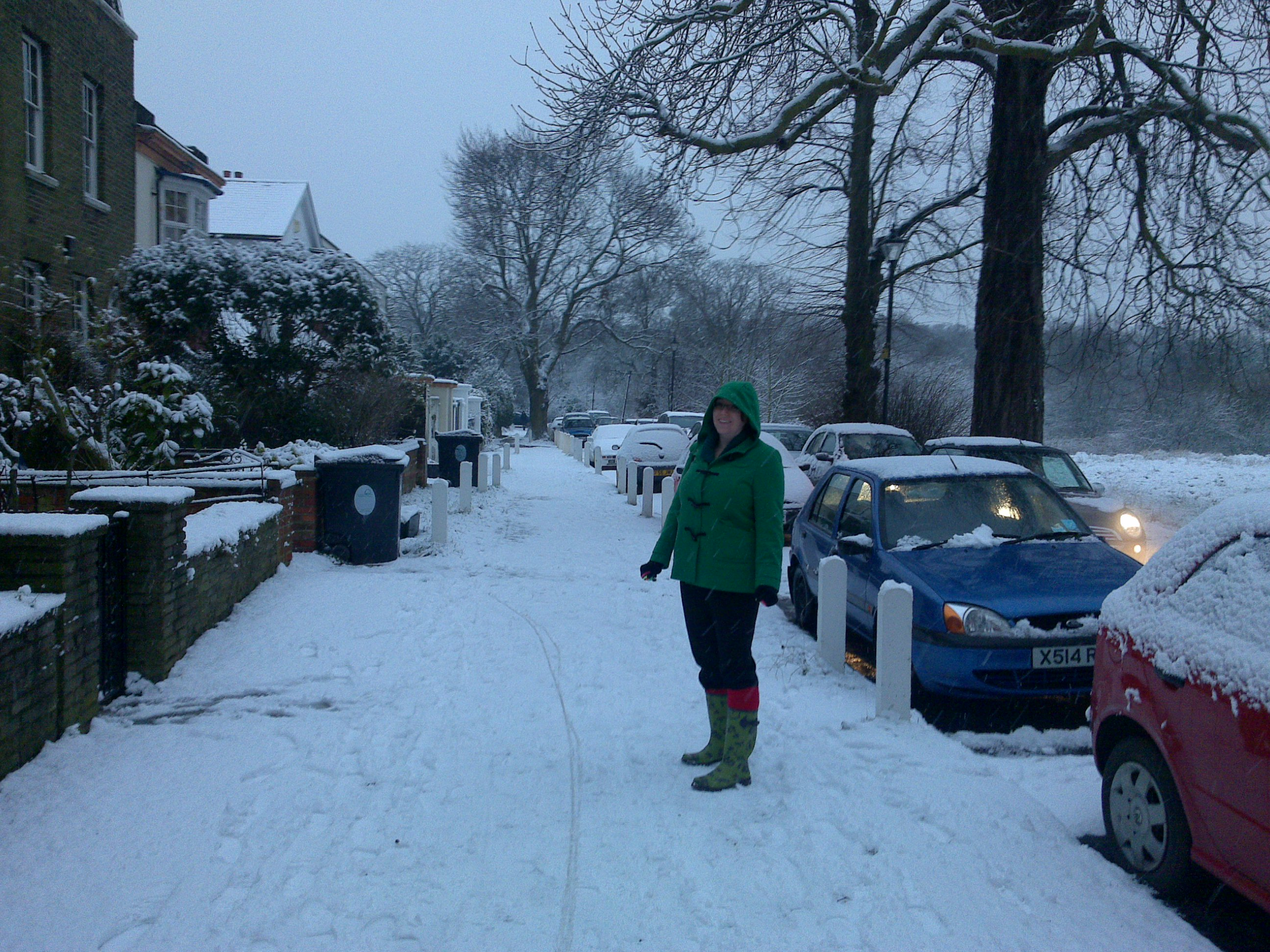 Ruth in the snow