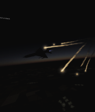 Night Intercept Mission in the MiG-21 b